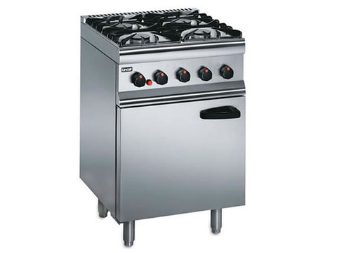 Lincat Silverlink 600 SLR6 Four Gas Burner Range, Range Cookers, Advantage Catering Equipment