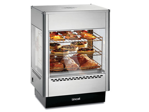 Lincat UMS50 Upright Heated Merchandiser, Heated Displays, Advantage Catering Equipment