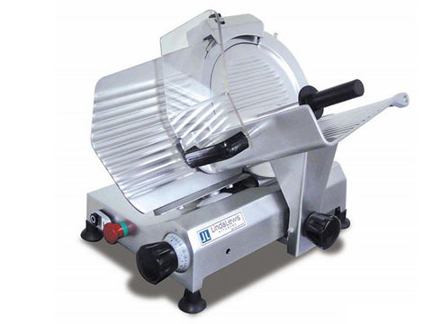Linda Lewis Kitchens LLK250MDES Medium Duty Slicer, Slicers, Advantage Catering Equipment