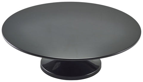 "Genware MCS33BK Black Melamine Cake Stand 33cm/13"", Buffet & Display, Advantage Catering Equipment"