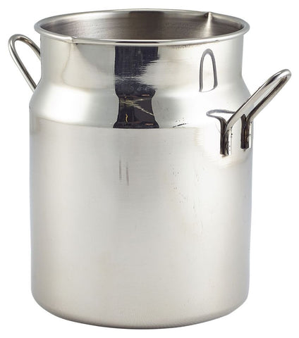 Genware MMC16 Mini Stainless Steel Milk Churn 16oz