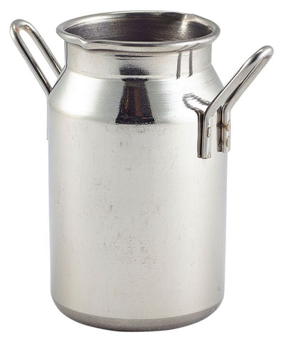 Genware MMC5 Mini Stainless Steel Milk Churn 5oz