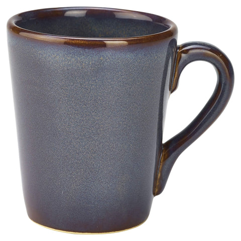 Genware MUG-BL32 Terra Stoneware Rustic Blue Mug 32cl/11.25oz, Tableware, Advantage Catering Equipment