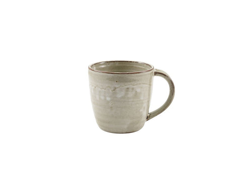 Genware MUG-PG32 Terra Porcelain Grey Mug 32cl/11.25oz, Tableware, Advantage Catering Equipment
