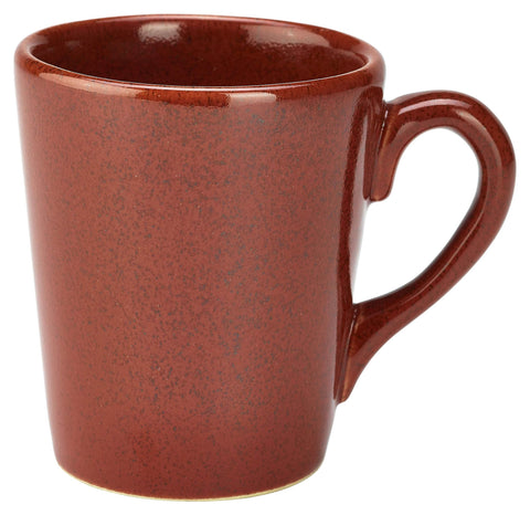 Genware MUG-R32 Terra Stoneware Rustic Red Mug 32cl/11.25oz, Tableware, Advantage Catering Equipment