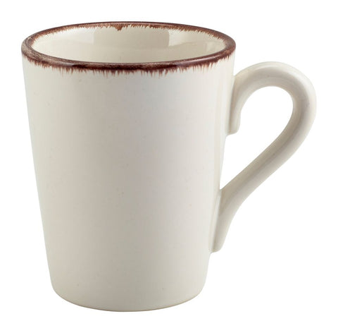 Genware MUG-SBR32 Terra Stoneware Sereno Brown Mug 32cl/11.25oz, Tableware, Advantage Catering Equipment
