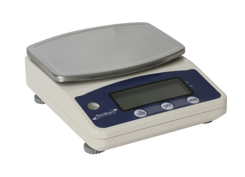 Genware NACS03 Digital Scales Limit 3Kg In g & lb, Kitchen & Utensils, Advantage Catering Equipment