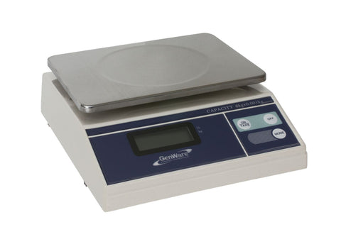 Genware NACS06 Digital Scales Limit 6Kg In G & Lb, Kitchen & Utensils, Advantage Catering Equipment