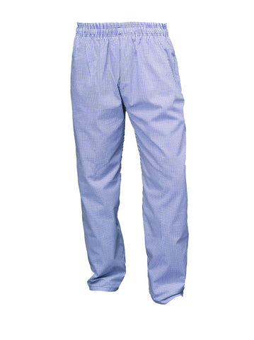 Genware NB02-XL Small Check Blue & White Baggies XL Size, Clothing & Footwear, Advantage Catering Equipment