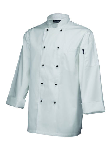 Genware NJ08-XL Superior Jacket (Long Sleeve) White XL Size, Clothing & Footwear, Advantage Catering Equipment