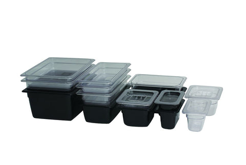 Genware PC12-LID 1/2 Polycarbonate GN Lid Clear