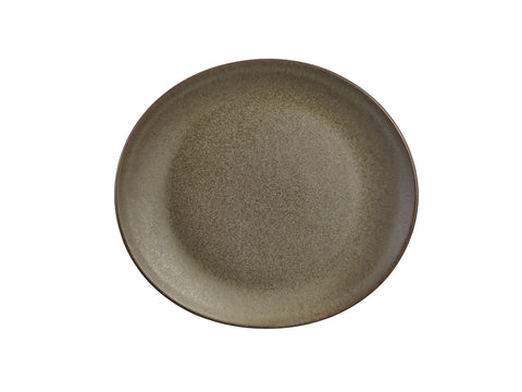Genware PL-AN21 Terra Stoneware Antigo Oval Plate 21x19cm, Tableware, Advantage Catering Equipment