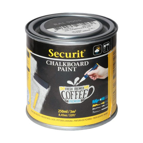 Genware PNT-BL-SM Chalk Board Paint 250ml, Menu,Signs & Display, Advantage Catering Equipment