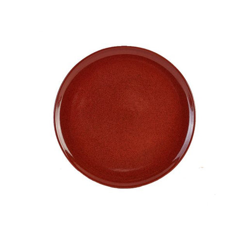 Genware PP-R33 Terra Stoneware Rustic Red Pizza Plate 33.5cm, Tableware, Advantage Catering Equipment