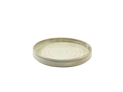 Genware PR-PMG21 Terra Porcelain Matt Grey Presentation Plate 21cm, Tableware, Advantage Catering Equipment