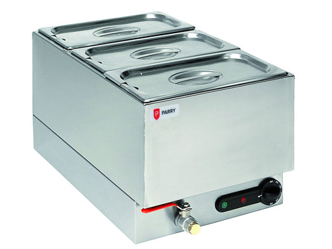Parry 1885FB Wet Well Gastronorm Bain Marie