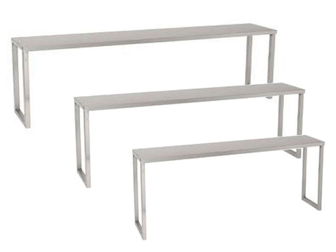 Parry 350mm Deep Range Stainless Steel 1 Tier Chefs Rack, Fabrications, Advantage Catering Equipment