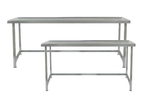 Parry 600mm Deep Stainless Steel Table with Void Range
