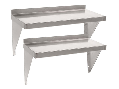 Parry 600mm Wide Range Stainless Steel Microwave Shelf, Shelving, Advantage Catering Equipment