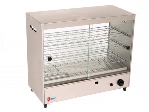 Parry AGPC1 LPG Pie Cabinet, Heated Displays, Advantage Catering Equipment