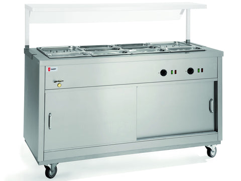 Parry HOT12BM Bain Marie Topped Hot Cupboards
