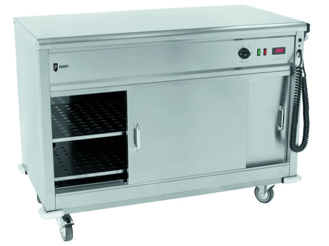 Parry MSF12 Flat Top Mobile Servery, Hot Holding, Advantage Catering Equipment