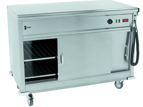 Parry MSF9 Flat Top Mobile Servery, Hot Holding, Advantage Catering Equipment
