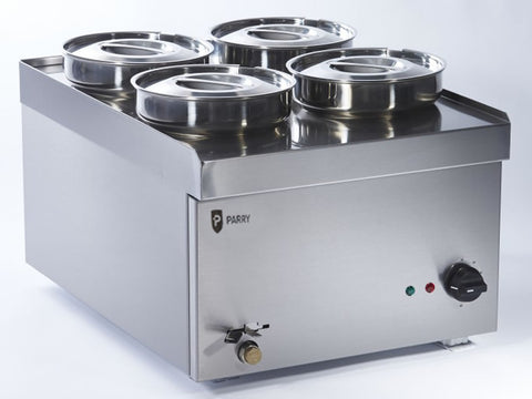 Parry NPWB4 Wet Well Pot Electric Bain Marie