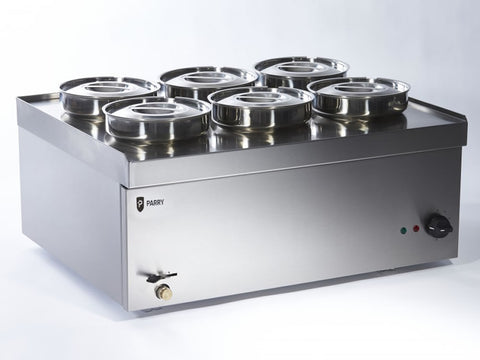 Parry NPWB6 Wet Well Pot Electric Bain Marie