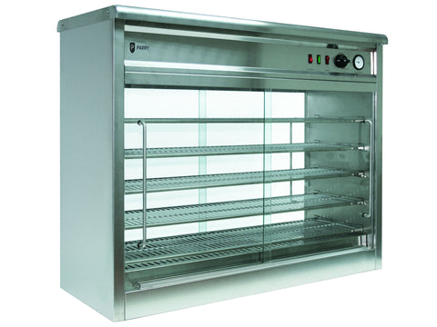 Parry PC140G Piemaster Extra Large Pie Cabinet, Heated Displays, Advantage Catering Equipment