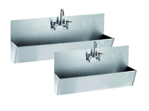 Parry SCRUB Range Stainless Steel Scrub Sink