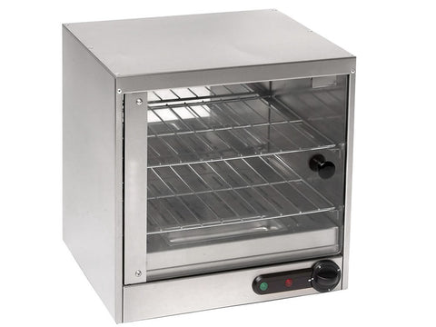 Parry SPC/G Electric Heated Square Pie Cabinet, Heated Displays, Advantage Catering Equipment