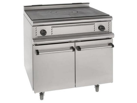 Parry USHO Solid Top Gas Range Oven, Range Cookers, Advantage Catering Equipment