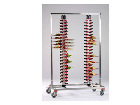 Plate-Mate PM168TWIN 168 Plate Banqueting Trolley, Trolleys, Advantage Catering Equipment
