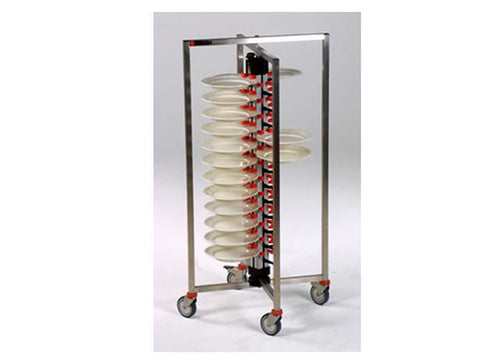 Plate-Mate PM48COL 48 Plate Colapsible Banqueting Trolley, Trolleys, Advantage Catering Equipment