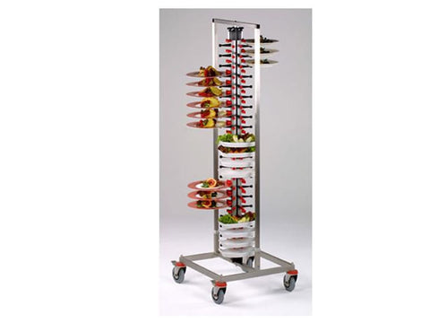 Plate-Mate PM84STD 84 Plate Standard Banqueting Trolley, Trolleys, Advantage Catering Equipment