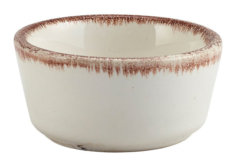Genware RAM-SBR15 Terra Stoneware Sereno Brown Ramekin 1.5oz/45ml, Tableware, Advantage Catering Equipment
