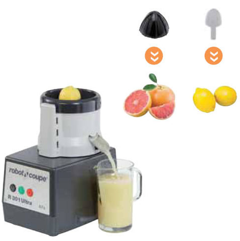 Robot Coupe 27395 and 27392 Citrus Press