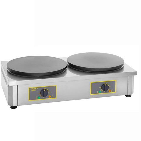 Roller Grill CDE 400 Double Electric Crepe Machine, Crepe Machines, Advantage Catering Equipment