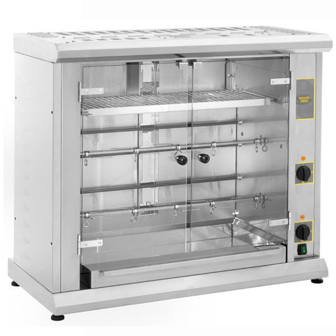 Roller Grill RBE80Q Counter Top Chicken Rotisserie, Grills, Advantage Catering Equipment