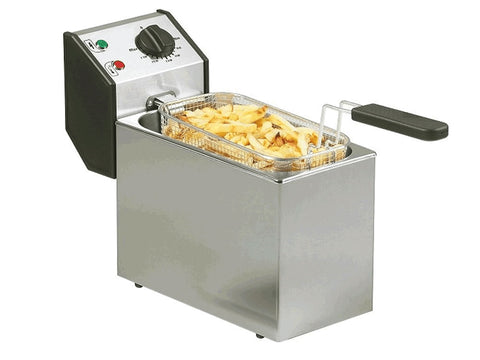 Roller Grill FD50 5 Litre Electric Fryer, Fryers, Advantage Catering Equipment