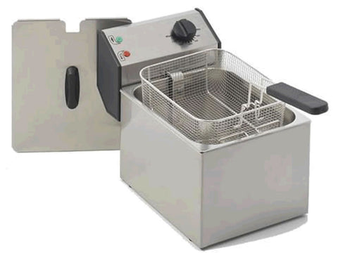 Roller Grill FD80 8 Litre Electric Fryer, Fryers, Advantage Catering Equipment