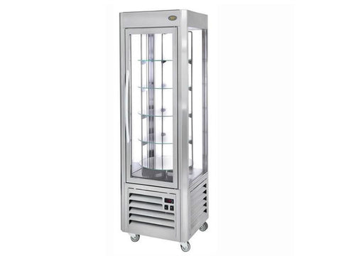 Roller Grill RD60T Rotating Vertical Refrigerated Display, Cold Displays, Advantage Catering Equipment