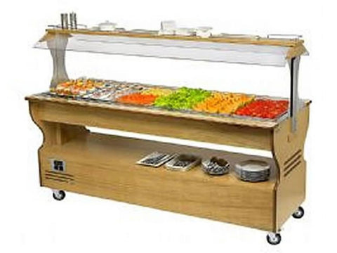 Roller Grill SB60C Heated Buffet Unit, Buffet Displays, Advantage Catering Equipment