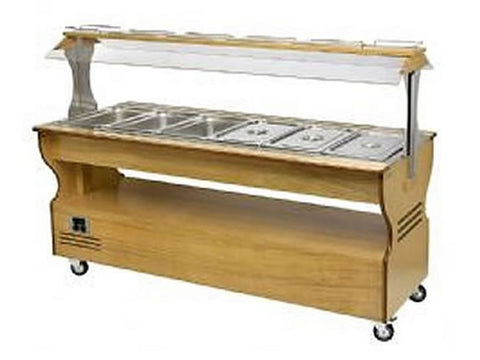 Roller Grill SB60M Refrigerated and Heated Buffet Unit, Buffet Displays, Advantage Catering Equipment