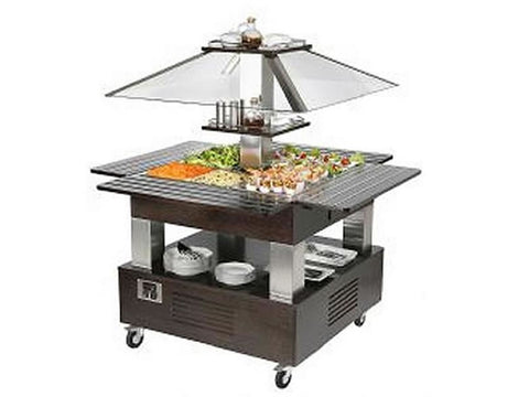 Roller Grill SBC40C Island Heated Buffet Unit, Buffet Displays, Advantage Catering Equipment