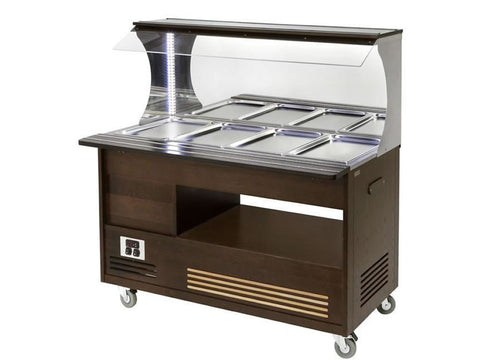 Roller Grill SBM40C Wall Sited Heated Buffet Unit, Buffet Displays, Advantage Catering Equipment