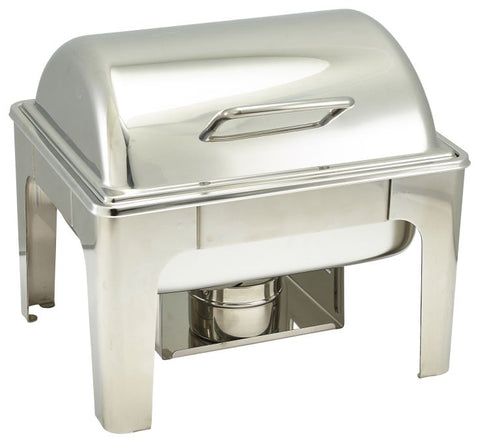 Genware S8012 Soft Close Chafing Dish GN 1/2, Buffet & Display, Advantage Catering Equipment