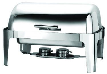Genware S901 Deluxe Roll Top Chafer 1/1, Buffet & Display, Advantage Catering Equipment