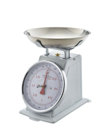Genware SD02 Analogue Scales 2kg Graduated in 10g, Kitchen & Utensils, Advantage Catering Equipment